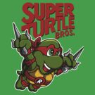 Super Turtle Bros - Raph by Punksthetic