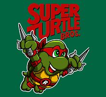 Super Turtle Bros - Raph Unisex T-Shirt
