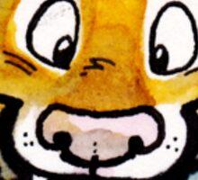 Raaar! Sabertooth Tiger Sticker Sticker