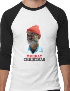 murray christmas Men's Baseball ¾ T-Shirt