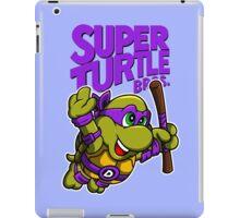 Super Turtle Bros - Donnie iPad Case/Skin