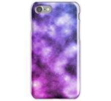 Pink and Blue Nebula iPhone Case/Skin