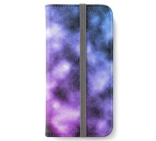 Pink and Blue Nebula iPhone Wallet/Case/Skin