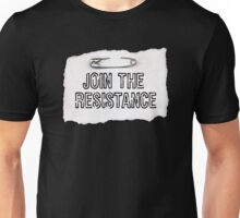 Join the #resistance - large Unisex T-Shirt