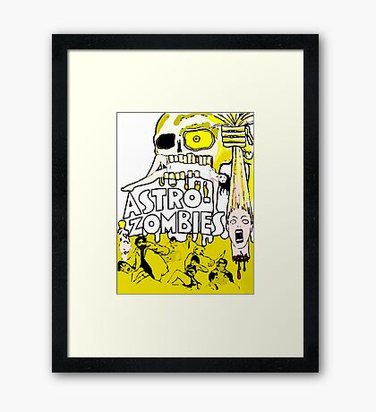 astro zombies Framed Print
