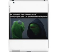 Dark Kermit the Frog  iPad Case/Skin