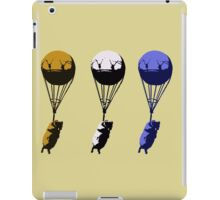 Flying goats 2 iPad Case/Skin