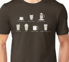 Weekly Dose of Coffee Unisex T-Shirt