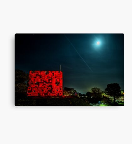 Moonlight Rememberance Canvas Print