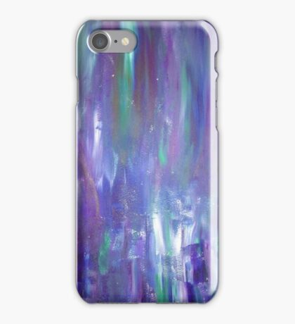 colorful acrylic painting iPhone Case/Skin