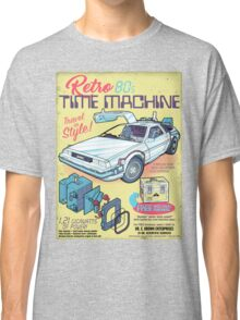 Retro Time Machine Classic T-Shirt