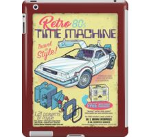 Retro Time Machine iPad Case/Skin
