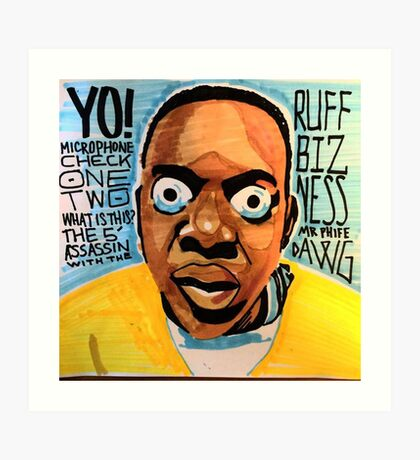 phife dawg Art Print