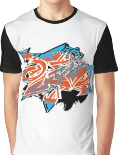 Colorful grunge distressed graffiti arrows Graphic T-Shirt