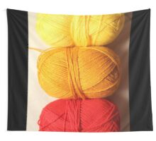 Balls of Wool Graphic Shirt Wall Tapestry