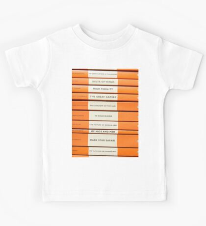 Book Spine Graphic Shirt Kids Tee