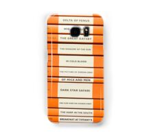Book Spine Graphic Shirt Samsung Galaxy Case/Skin