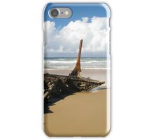 Wreckage at the Beach iPhone Case/Skin