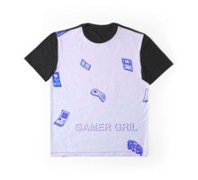 pastel gamer gril  Graphic T-Shirt