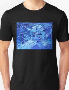 Blue Swirl Full Unisex T-Shirt