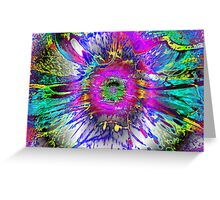 RAINBOW EXPLOSION Greeting Card