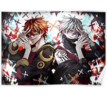Mystic Messenger - Seven & Unknown Poster