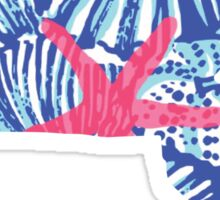 Massachusetts Lilly Sticker