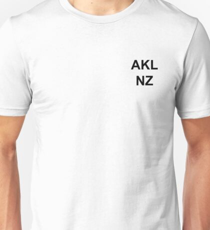 Auckland New Zealand Unisex T-Shirt