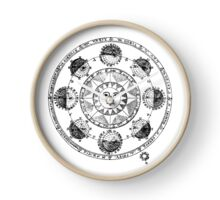 Medieval Astronomical Chart of Planets Clock