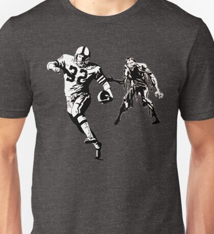Sunday Funday: Football and Zombies Unisex T-Shirt