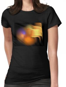 Orange Wings Womens Fitted T-Shirt
