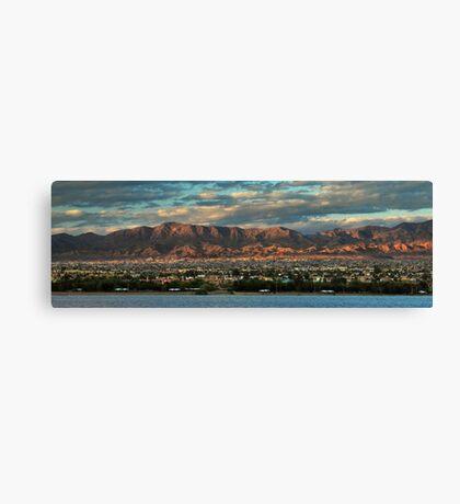 Sunset Over Havasu Canvas Print