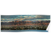 Sunset Over Havasu Poster