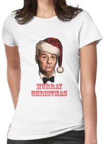 bill murray christmas Womens Fitted T-Shirt