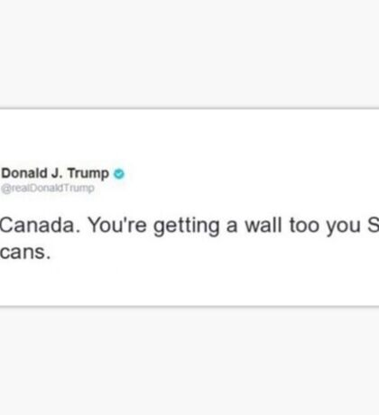 Trump tweet Sticker