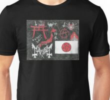 Japanese Nationalist Black Metal Anarchy Unisex T-Shirt
