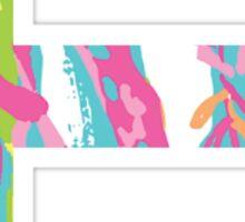 E Lilly Sticker