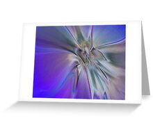 ANGEL CARESS Greeting Card
