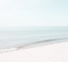 Mint and Beige Beach and Ocean  by BrookeRyanPhoto
