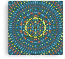 Insect Mandala Canvas Print