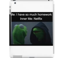Inner Kermit  iPad Case/Skin