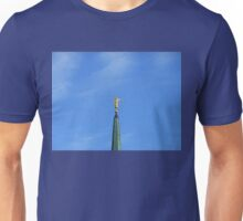 Out of the East -The Golden Angel, London Temple Unisex T-Shirt