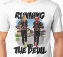 Running with the Devil Unisex T-Shirt