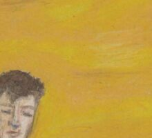 Youth- Troye Sivan Impressionist Painting  Sticker