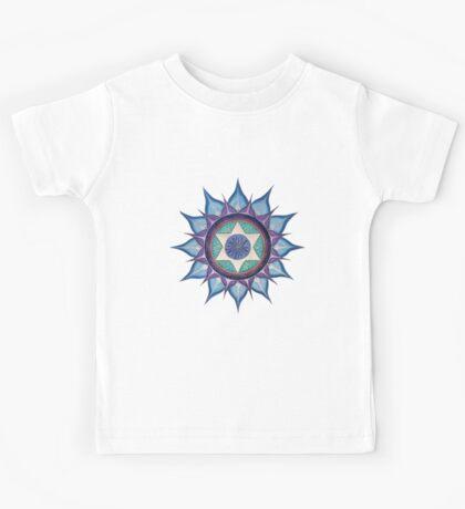 Mandala : Blooming Star Kids Tee