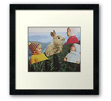 Bunny Hill Framed Print