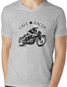 Cafe Racer Mens V-Neck T-Shirt
