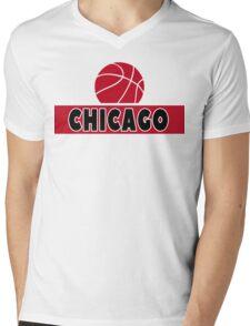 Chicago Mens V-Neck T-Shirt