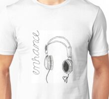 enhance headphones Unisex T-Shirt
