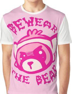 BEWARE THE BEAR Graphic T-Shirt